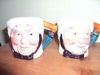 Character jugs