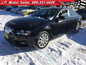 2013 Audi A4 2.0T, Auto, Leather, Sunroof, Only 86, 000km