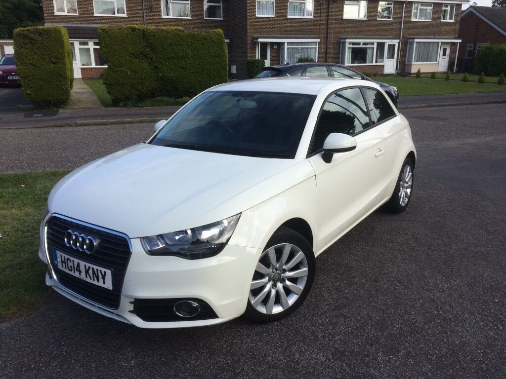 2014 white audi a1 sport tfsi 11 500 fixed price 3 door 1 2l 17 700 miles in bournemouth. Black Bedroom Furniture Sets. Home Design Ideas