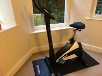 Exercise Bike (cardiostrong BX30) + floor mat