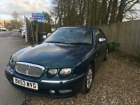 Rover 75 connoisseur low millage