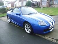 MG TF 1.8L, 2002 REG WITH MOT AND FULL HISTORY WHICH SHOWS A RECENT HEAD GASKET, CAMBELT & HPi CLEAR
