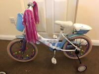 """Disney Frozen 16"""" Kids Bike"""