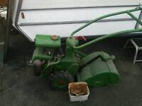 Monro tiller vintage needs tlc not stationary engine