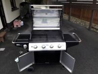 ONYX 4 BURNER WITH SIDEBURNER- By Outback UK