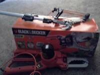 GOOD AS NEW CHAIN SAW - ALSO TREE AND BRANCH LOPPER