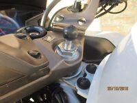 Telferizer sat nav stem mount for 2014 Honda VFR 800f