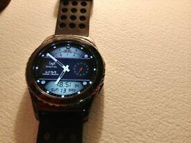 Samsung Gear S2 Classic Black Smart Watch