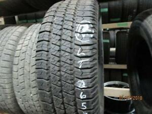 LT 265/70R17 GOODYEAR 1 0NLY USED GOODYEAR ALL SEASON TIRE LIKE NEW