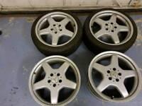 18 inch Mercedes alloy wheels pcd 5x112