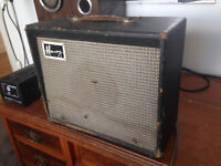 Vintage 1964 Harmony H303A guitar amplifier, collection only