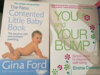 Baby and pregnancy books