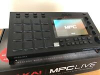 AKAI MPC Live with 250gb SSD DRIVE installed