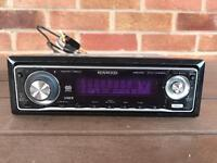 Kenwood KDC - W534U car radio system.
