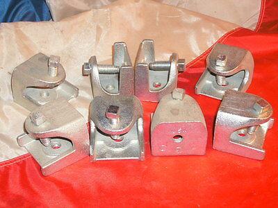 Bridgeport 954 2-12 Insulator Support I-beam Clamp - Lot Of 8