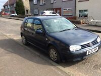 Golf mk4 1.9 Sdi 2002 body Solid Starts and drives Every time great engine