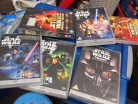 STAR WARS DVDS IV and V - USED excellent condition - £5