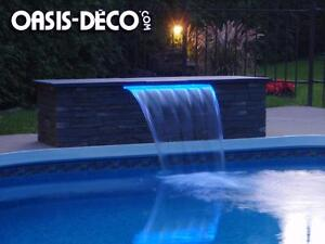 CONTEMPORAIN SWIMMING POOL WATERFALL