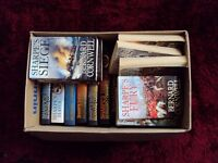 Box of books by BERNARD CORNWELL