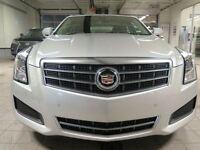 2014 Cadillac ATS 2.0L Turbo Luxury AWD CUIR TOIT BAS KILOMÉTRAG