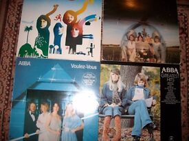ABBA RECORDS FOR SALE