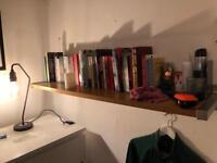 2 Wooden Ikea Shelves