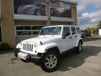 2013 Jeep WRANGLER UNLIMITED Sahara, Cuir, GPS, Automatique, 2 T