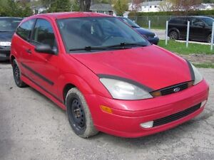 2004 Ford Focus ZX3 Manual Transmission