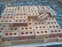 Lot of Red Brick for fireplace / garden feature