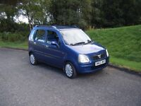 53 PLATE VAUXHALL AGILA 1.2 16V NEW MOT LOW MILES CHEAP RELIABLE TIDY CAT NO OFFERS