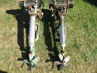 2 x BRITISH SEAGULL OUTBOARD ENGINE make a offer