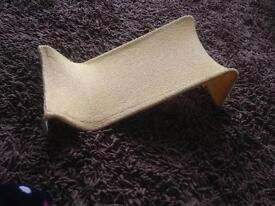 Baby towelling bath support