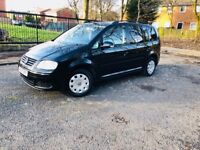 VOLSKWAGEN TOUREN MPV 7 SEATER 2 KEYS DRIVES MINT CLEAN CAR IMMACULATE CONDITION