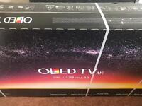 LG 55 inch OLED55B7V 4k HDR Smart Tv with webOS Crescent stand, Dolby Atmos. Brand New Sealed.