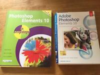 Adobe Photoshop elements 10 discs and book
