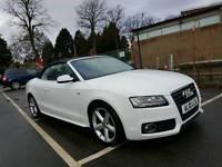 Audi A5 Cabriolet SLine White 2011