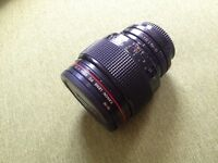 CANON FD85 1.2 LENS AND B+W UV FILTER