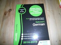 GERMAN NATIONAL 5 practice papers with answers book