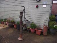 Cast Iron Ornamental water hand pump
