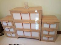 Ikea storage units x 6 pieces