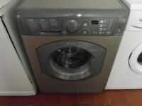 """Hotpoint""Grey Washing machine.. 7kg..Spin-1200...For sale..Can be delivered."
