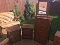 Next wooden furniture set