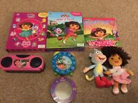 7 Piece Dora the Explorer Bundle