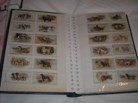 ASSORTED CIGARETTE CARDS