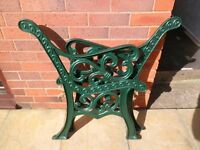 Twirl Cast Iron Bench/Chair Ends