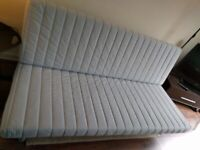 Delivery IKEA 3-seat Futon BEDDINGE 2m & COVER Sofabed DOUBLE BED + storage