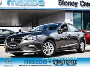2015 Mazda MAZDA3 GS Auto Heated B/UP CAM B/Tooth Alloy!