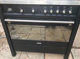 Smeg renge cooker 90 cm