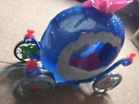 Transforming Cinderella Carriage