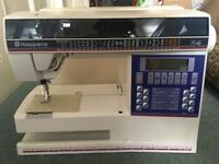 Husqvarna embroidery computerised sewing machine heavy duty